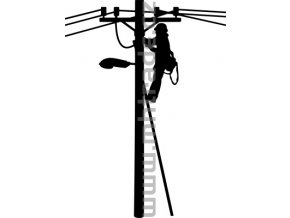 Samolepka - Elektrikář 03