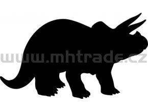 Samolepka - Triceratops