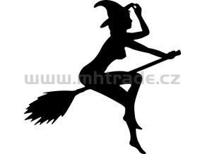 Samolepka - Čarodějnice 06