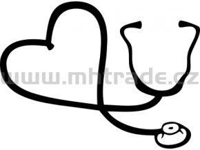 Samolepka - Lékař