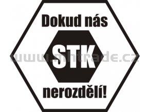 Samolepka - Dokud nás STK nerozdělí 02