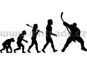 Samolepka - Hokejista 12 evoluce