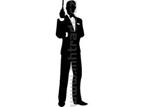 Samolepka - Agent