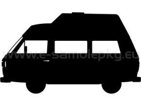 Samolepka - VW Transporter T3 Westfalia