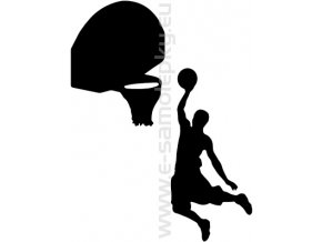 Samolepka - Basketbal
