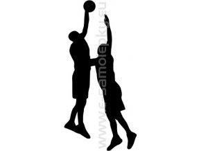 Samolepka - Basketbal 02