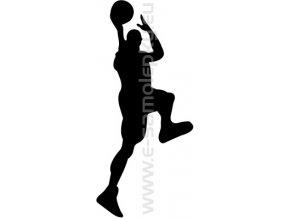 Samolepka - Basketbal 06