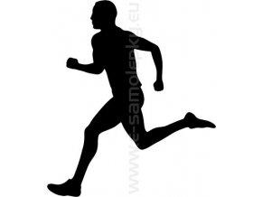 Samolepka - Běžec
