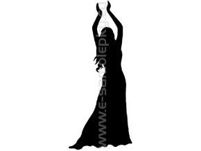 Samolepka - Břišní tanec 03