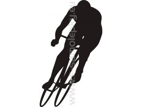 Samolepka - Cyklista 02
