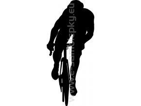 Samolepka - Cyklista 04