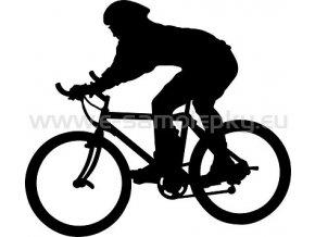 Samolepka - Cyklista 06