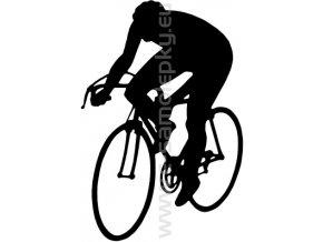 Samolepka - Cyklista 07