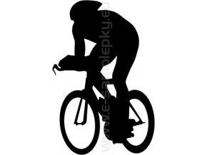 Samolepka - Cyklista 08