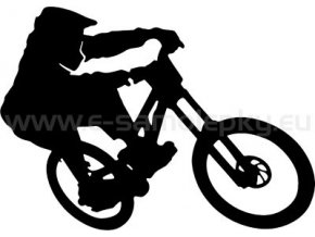Samolepka - Cyklista 09