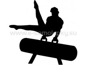 Samolepka - Gymnastika 05