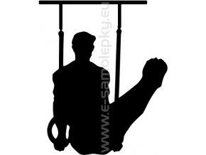 Samolepka - Gymnastika 06