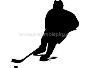 Samolepka - Hokejista 04