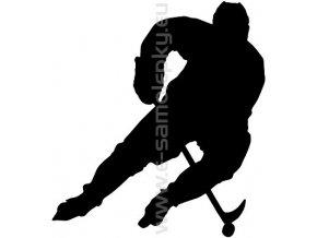 Samolepka - Hokejista 07