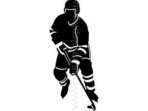 Samolepka - Hokejista 11
