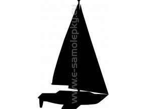 Samolepka - Jachting