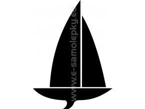 Samolepka - Jachting 03