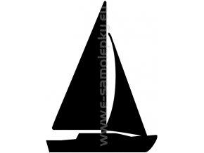 Samolepka - Jachting 04