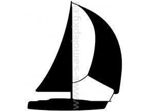 Samolepka - Jachting 06