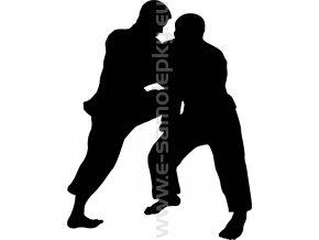 Samolepka - Judo