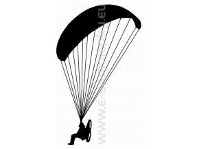 Samolepka - Motorový paragliding