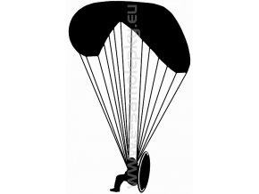 Samolepka - Motorový paragliding 02