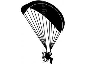 Samolepka - Motorový paragliding 03