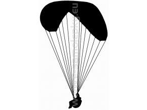 Samolepka - Paragliding