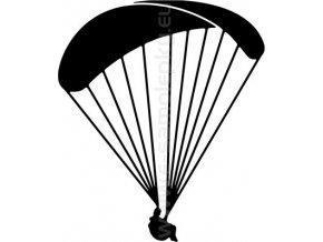 Samolepka - Paragliding 03