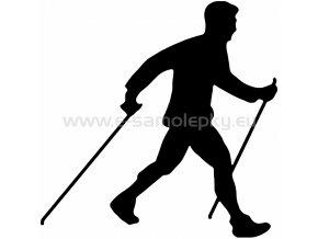 Samolepka - Nordic Walking