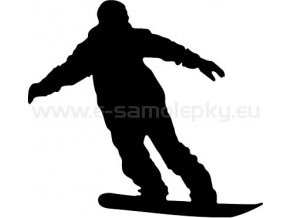 Samolepka - Snowboardista 09