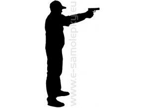 Samolepka - Střelba 03