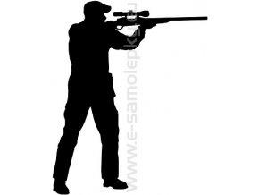 Samolepka - Střelba 02