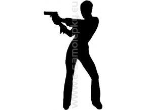 Samolepka - Střelba 05