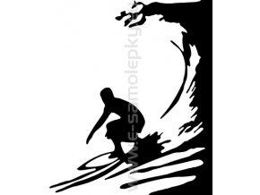 Samolepka - Surfař