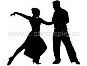 Samolepka - Tanec 02