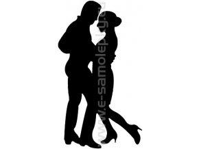 Samolepka - Tanec 04