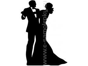 Samolepka - Tanec 07