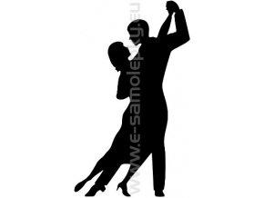 Samolepka - Tanec 08