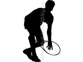 Samolepka - Tenista