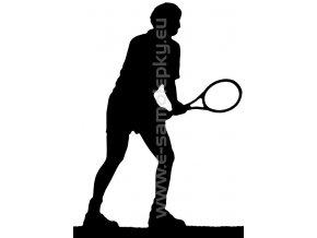 Samolepka - Tenista 03