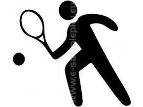 Samolepka - Tenista 02
