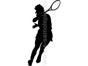 Samolepka - Tenistka