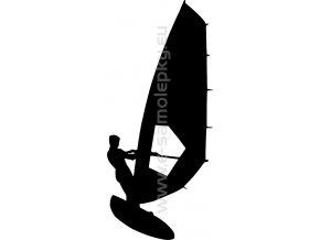 Samolepka - Windsurfing 02