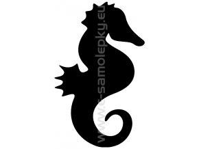 Samolepka - Mořský koník